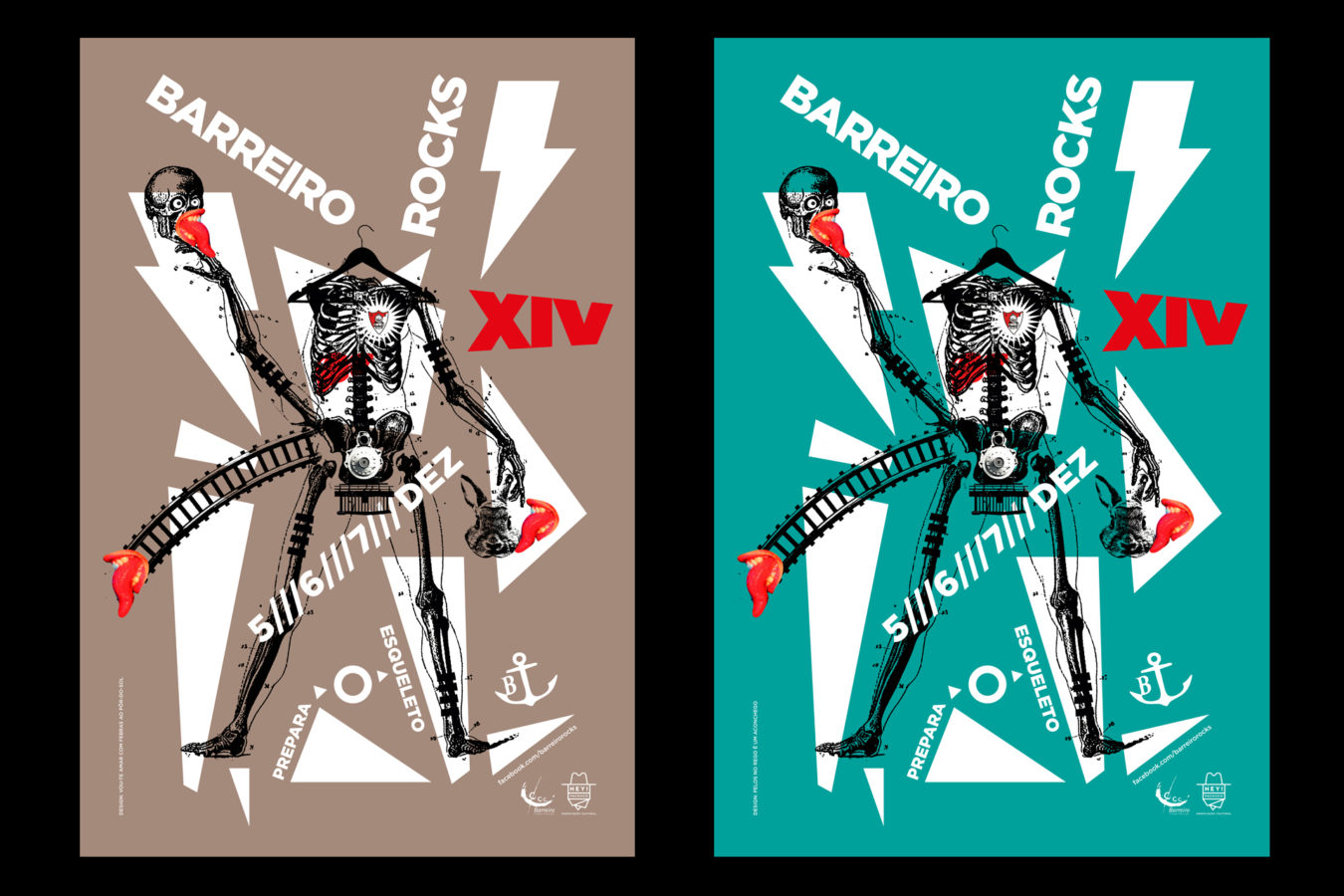 Teasers Posters<br>Barreiro Rocks 14