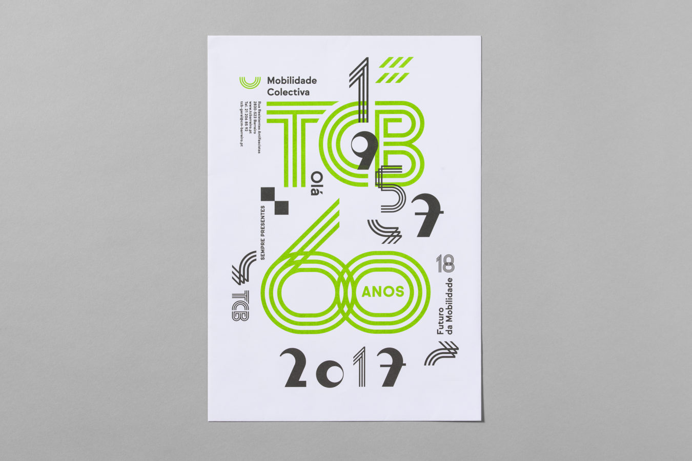 60 years commemorative Visual Identity <br> <span class=