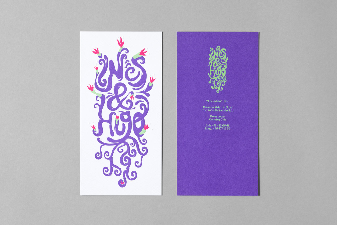 Wedding Invitation<br>Inês &amp; Hugo